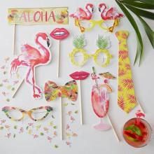 Rekvisitter Flamingo 10-Pakning