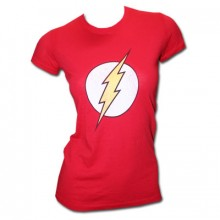 The Flash Emblem T-Skjorte Dame
