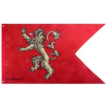 Game Of Thrones Flagga Lannister