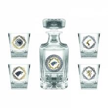 Game Of Thrones Premium Karaffel & 4 stk. Glass