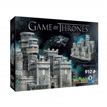 Game Of Thrones 3D puslespill Winterfell