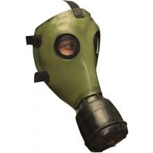 Gassmaske Grønn Lateks