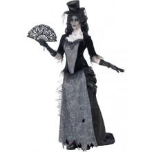Kostyme Sort Enke Spøkelse