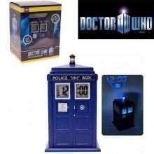 Doctor who - Tardis Alarmklocka med lampa