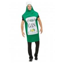 Ginflaske Karnevalskostyme