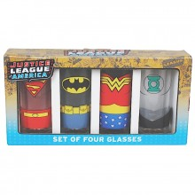 Glass DC Comics Justice League