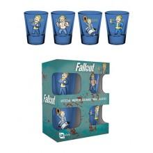 Fallout Vault Boy Premium Shotglass 4-pakning