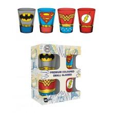 DC Comics Premium Shotglass 4-pakning