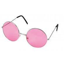 Runde Solbriller Rosa