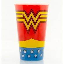 Wonder Woman Stort Färgat Glas