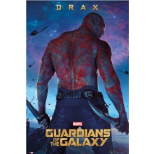 GUARDIANS OF THE GALAXY DRAX PLAKAT