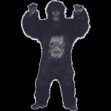 Gorilla Deluxe Kostyme