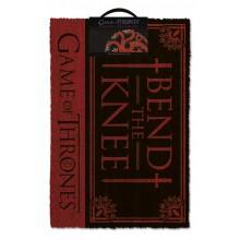 Game Of Thrones Dørmatte Bend The Knee