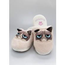 Grumpy Cat Tøfler