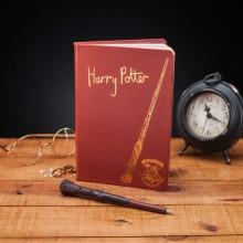 Harry Potter Notatbok Med Tryllestavpenn