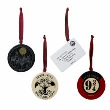 Harry Potter Dekorasjon 4-pakning
