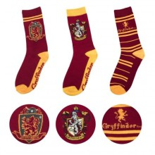 Harry Potter Gryffindor Strumpor 3 Pack