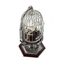 Harry Potter Miniatyr Hedwig (Hedvig) i Bur