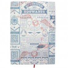 Harry Potter Notatbok Quidditch