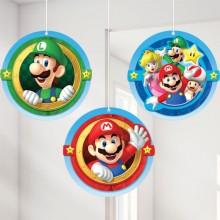 Dekorasjon Super Mario 3-pakning