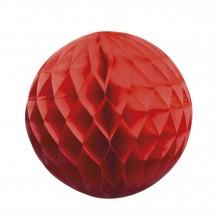 Honeycomb Rød 25 cm