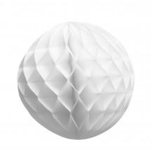 Honeycomb Hvit 25 cm