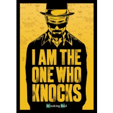 PLAKAT BREAKING BAD (I AM THE ONE WHO KNOCKS)