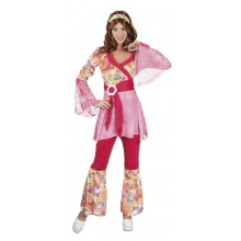Happy Diva Hippie Karnevalskostyme
