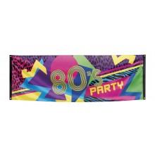 Banner 80-talls 74x220 cm