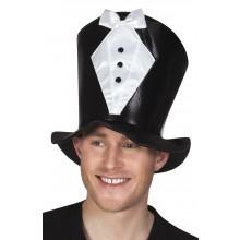 Høy Hatt Brudgom
