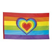 Flagg Pride Hjerte 90x150 cm