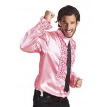 Discoskjorte Rosa 70-Tall