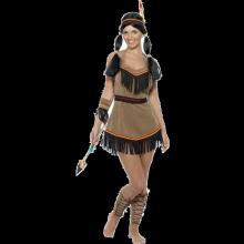 Indianerkostyme Dame