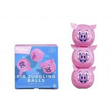 Sjongleringsballer Griser 3-pakning