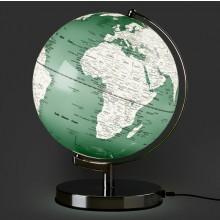 Globus Lampe Lysegrønn