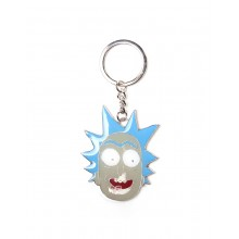 Rick And Morty Nøkkelring Rick Face