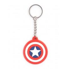 Marvel Captain America Skjold NØKkelring
