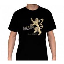 T-Skjorte GoT Lannister Sort