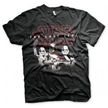 Star Wars The Last Jedi Troopers t-skjorte