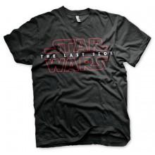 Star Wars The Last Jedi Logo Svart t-skjorte