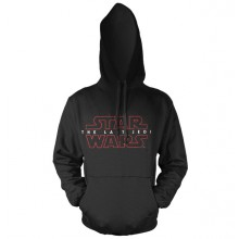 Star Wars The Last Jedi Logo Svart Hoodie
