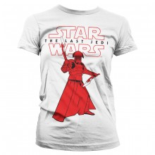 Star Wars The Last Jedi Praetorian Guard Dame t-skjorte