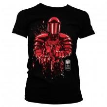 Star Wars The Last Jedi Cracked Praetorian Guard Dame t-skjorte