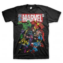Marvel Comics - Team-Up T-Skjorte (Sort)