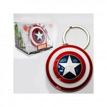 Marvel Captain Americas Skjold Nøkkelring