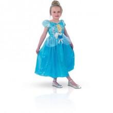 Askepott Kjole Kostyme Barn