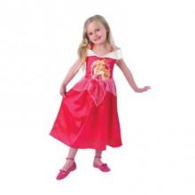 Tornerose Kjole Kostyme Barn