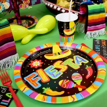 Tallerkener Mexico Fiesta 8-Pakning