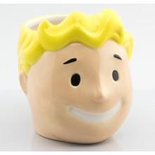 Fallout 3D-Kopp Vault Boy