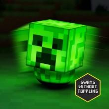 Minecraft Creeper Gungande Lampa